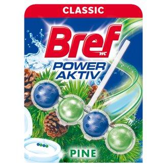 Bref Power Aktiv Pine Forest tuhý WC blok 50g