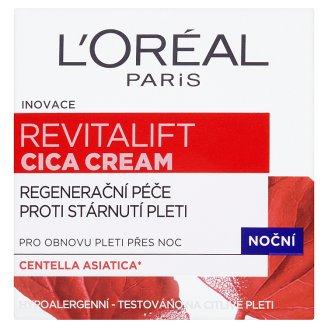 L'Oréal Paris Revitalift Cica Cream noční regenerační péče proti stárnutí pleti 50ml