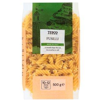 Tesco Fusilli těstoviny bezvaječné sušené semolinové 500g