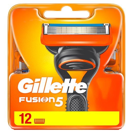 Gillette Fusion5 Holicí Hlavice Pro Muže 12Ks