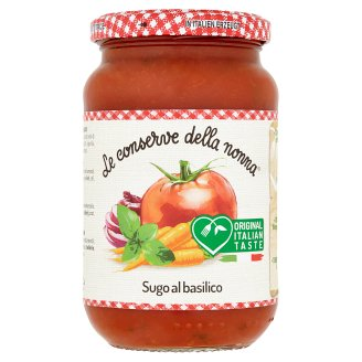 Le Conserve della Nonna Sugo Al Basilico rajčatová omáčka s bazalkou 350g