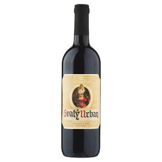 Víno Mikulov Svatý Urban červené víno polosladké 0,75l