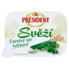 Président Svěží Čerstvý sýr bylinkový 125g