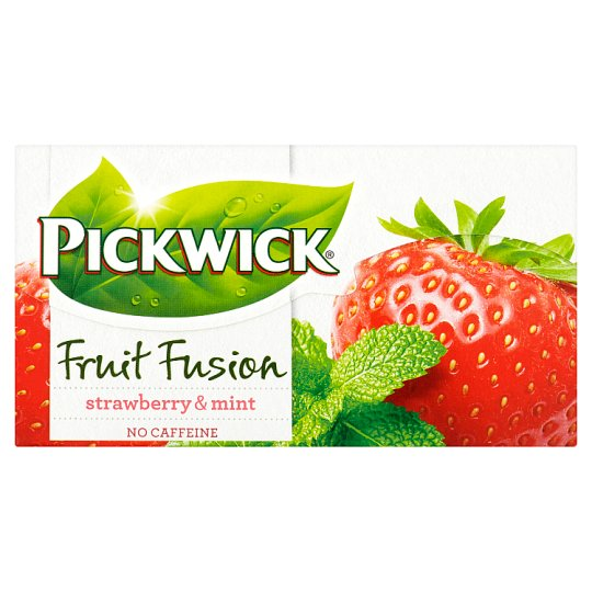 Pickwick Fruit Fusion Strawberry & Mint 20 x 1,75g