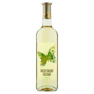 Víno Motýl Veltlínské zelené suché bílé víno 0,75l