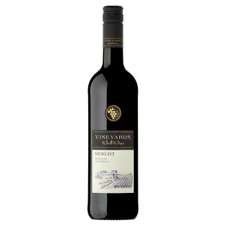 Vineyards World Wines Merlot červené víno suché 750ml