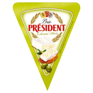 Président Brie with Olives 125g