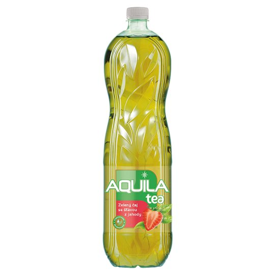 Aquila Tea Green Tea with Strawberry Juice 1.5L