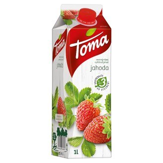 Toma Jahoda ovocný nápoj 1l