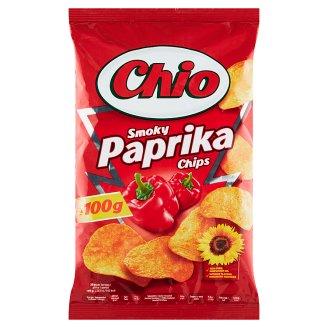 Chio Smažené bramborové lupínky s příchutí papriky 100g