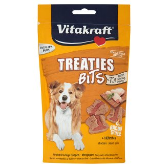 Vitakraft Treaties bits kuřecí pečené kousky pro psy 120g