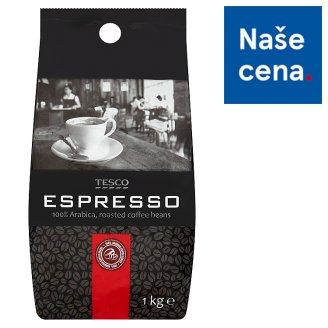 Tesco Espresso pražená zrnková káva 100% Arabica 1kg