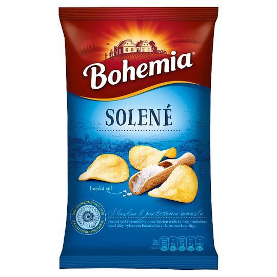 Bohemia Chips Salted 150g