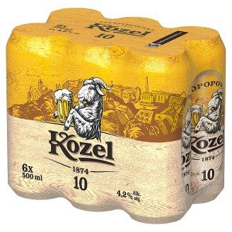 Velkopopovický Kozel Světlý výčepní pivo 6 x 500ml
