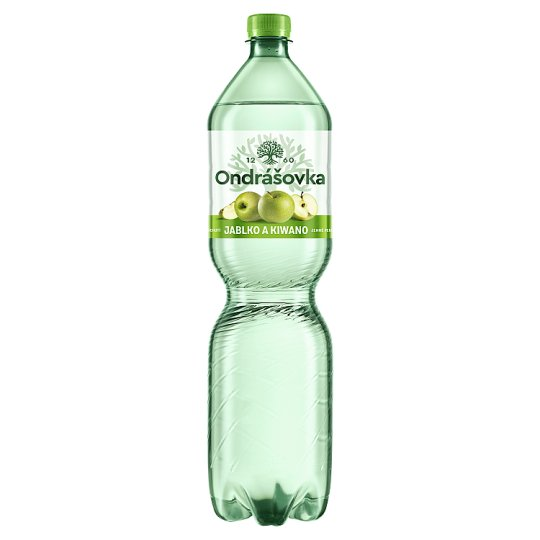 Ondrášovka Lightly Carbonated Water Flavored with Apple & Kiwano 1.5L