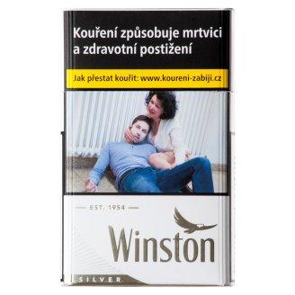 Winston Silver cigarety s filtrem 20 ks