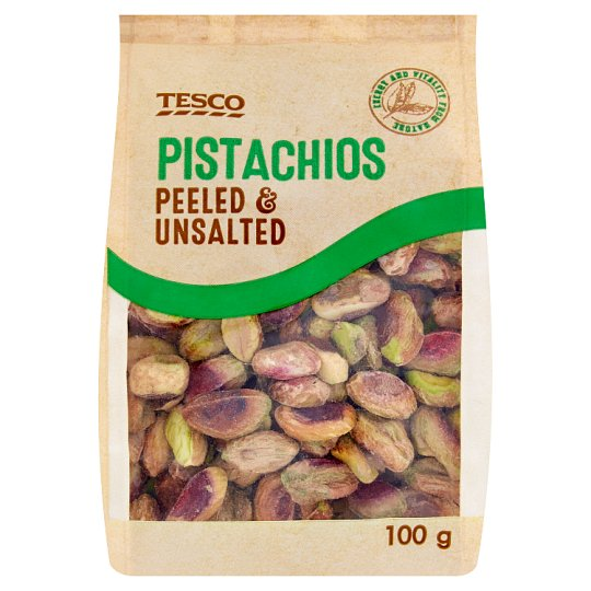 Tesco Pistachios Peeled & Unsalted 100g