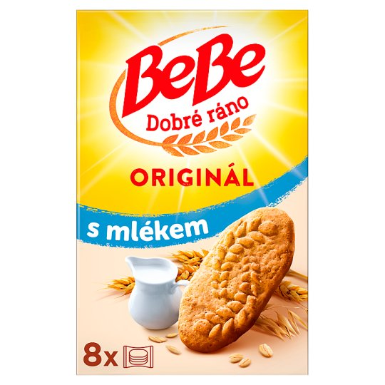 Opavia BeBe Good Morning with Milk 8 x 50g