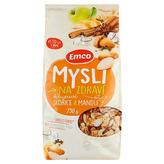 Emco Mysli na Zdraví Crunchy Cinnamon and Almonds 750g