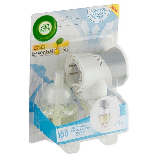 Air Wick Life Scents Elektrický osvěžovač vzduchu - strojek a náplň prádlo ve vánku 19ml