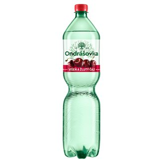 Ondrášovka Still Mineral with Flavors of Cherry and Yellow Tea 1.5L