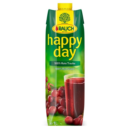 Rauch Happy Day 100% Red Grape 1L
