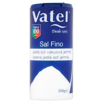 Vatel Jedlá sůl vakuová jemná 250g