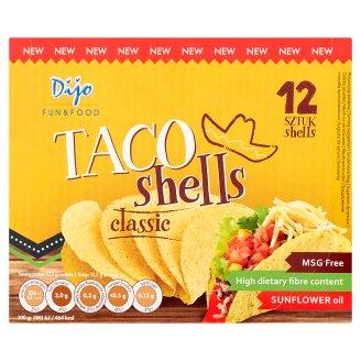 Dijo Taco Sheells Classic smažené kukuřičné placky 158,4g