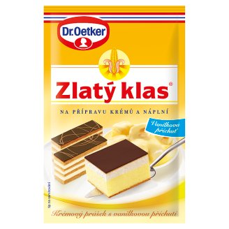 Dr. Oetker Zlatý Klas for Preparing Creams and Fillings 40g