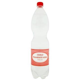 Tesco Pramenitá voda sycená 1,5l