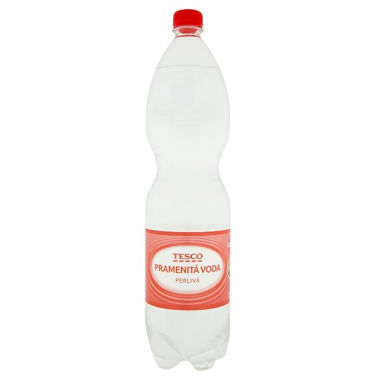 Tesco Spring Carbonated Water 1.5L
