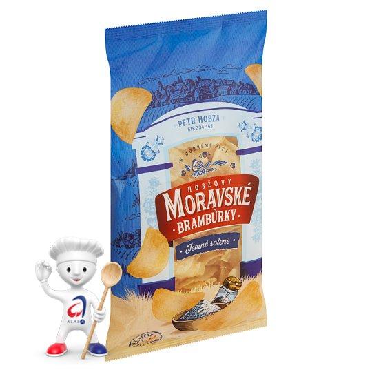 Moravské Brambůrky Salted Fried Potatoe Crisps 175g