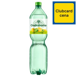 Ondrášovka Still Water Flavored with Lime and Lemon 1.5L