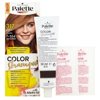 image 2 of Schwarzkopf Palette Color Shampoo Hair Color Hazel Fawn 317