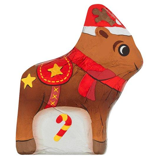 Tesco Milk Chocolate Hollow Reindeer 100g