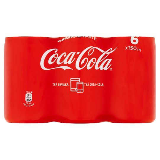 Coca-Cola Regular 6 x 150ml