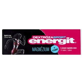 Energit Dextróza Sport Magnézium + vitamíny s příchutí tropického ovoce 14 tablet 49g
