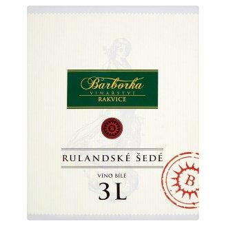 Vinařství Barborka Rulandské šedé víno bílé suché 3l