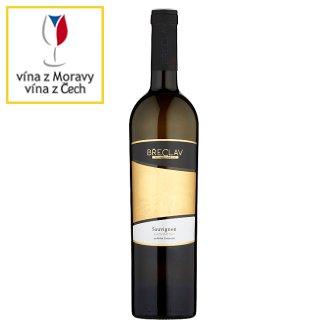 Rodinné Vinařství Břeclav Sauvignon jakostní víno s přívlastkem pozdní sběr bílé suché 0,75l