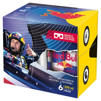 Red Bull Energy drink 6 x 250ml Virtual reality pack