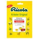 Ricola Kräuter Originální bylinné bonbóny bez cukru 75g