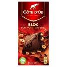Côte d'Or Hořká čokoláda vysoké jakosti s celými jádry lískových ořechů 180g