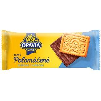Opavia Zlaté Half-Coated Milk 100g