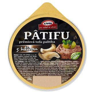 Veto Pâtifu Premium Tofu Pate with Oyster 100g