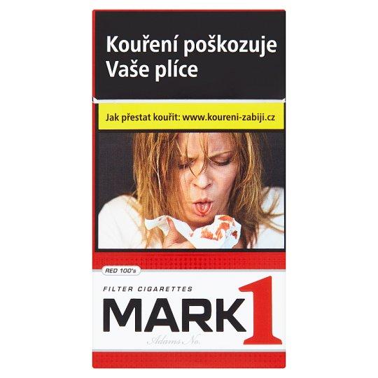 Mark Adams No.1 Red 100's cigarety s filtrem 20 ks