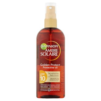 Garnier Ambre Solaire Golden Protect olej na opalování OF 10 150ml