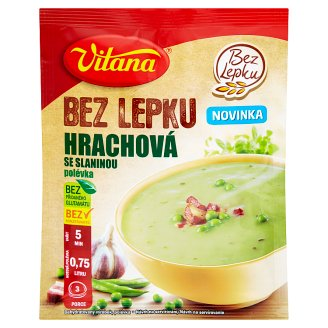 Vitana Pea Soup with Bacon Without Gluten 74g
