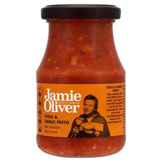 Jamie Oliver Pesto s chilli a česnekem 190g