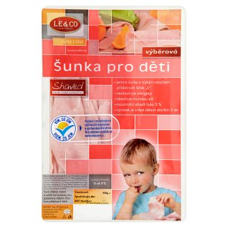 Le & Co Shaved Selected Ham for Kids 100g