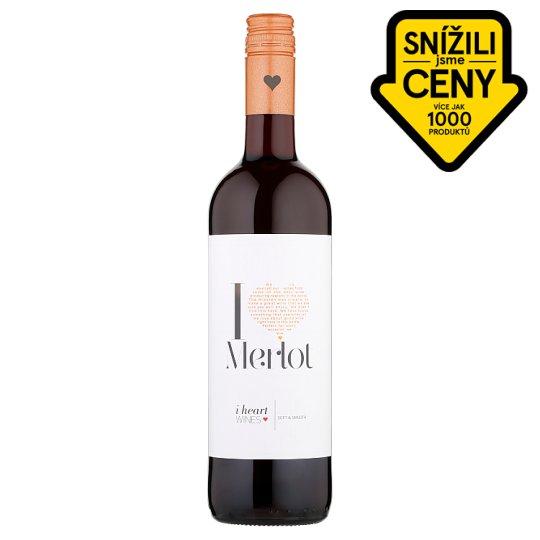 I Heart Merlot červené víno 75cl